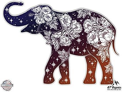 Detailed Mandala Beautiful Flower Design Vinyl Sticker Waterproof Decal