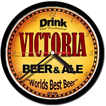 VICTORIA beer and ale cerveza wall clock