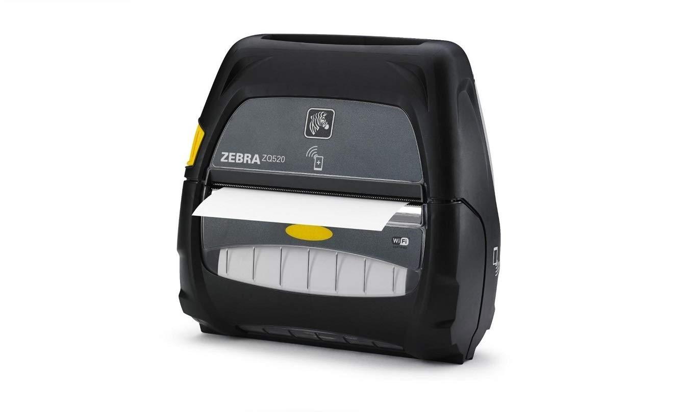 Linerless Platen WLAN Bluetooth 3.0 Dual Radio Direct Thermal English Grouping 0 Zebra Technologies ZQ52-AUN1000-00 Series ZQ520 Mobile Printer