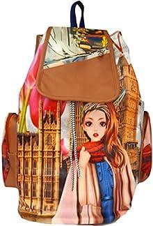 Glory fashion Stylish Girls School bag College Bag Casual Backpack BLACK  (C1) b3c59833d615f