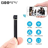 1080P Wireless WiFi Mini Camera- SOOSPY Indoor Outdoor Portable Small Security Camera /Nanny Cam with Motion Detection(IOS&Android)