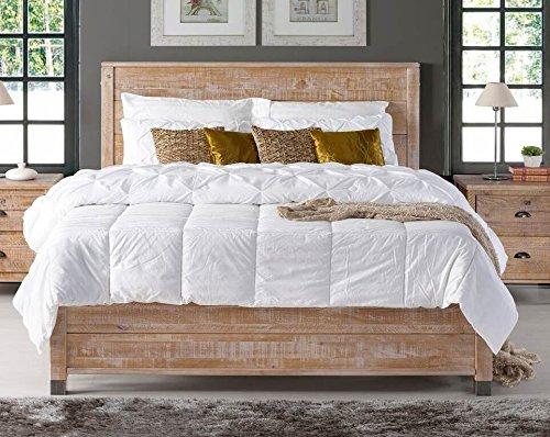 Camaflexi BJ608 Baja Platform Bed Queen Size Brown