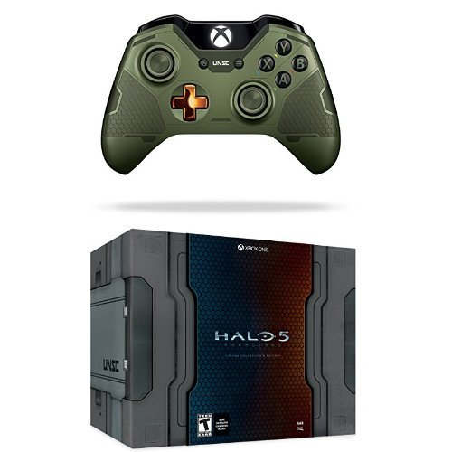 Halo 5: Guardians Limited Collector's Edition Game and Limited Edition Guardians Master Chief Wireless (Halo Master Chief Collectors Edition)
