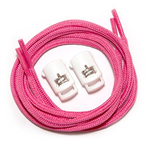 Schnürsenkel runner Laces Race White Off zugfest race Lock Speedlaces Pink with q5OzXtzwn