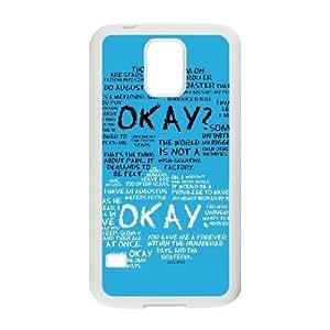 PCSTORE Phone Case Of Okay Okay For Samsung Galaxy S5 I9600