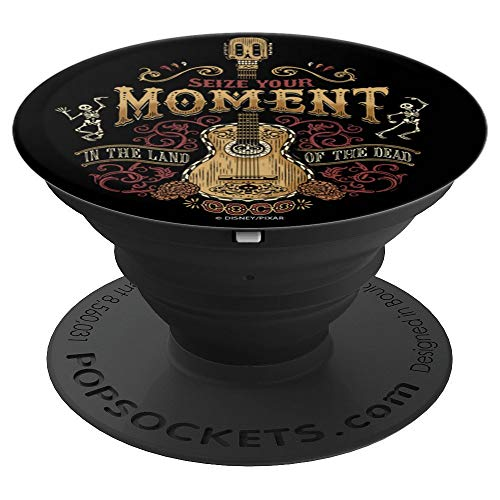 Disney Pixar Coco Seize The Moment In The Land Of The Dead - PopSockets Grip and Stand for Phones and Tablets