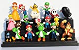 Super Mario Bros PVC Action figures Toys Dolls 18 pcs/set SMFG048