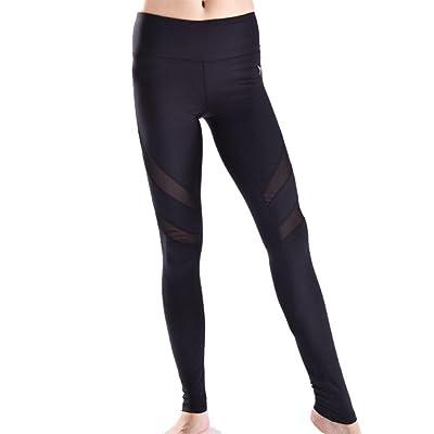 HETAO Minceur Running Sports Fitness Loisirs Danse Yoga Vêtements Tightness Couture Rapide Maillot Mesh Pantalon Exercice sain