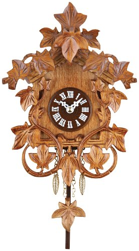 River City Clocks quartz clock with hand-carved vines for sale  Delivered anywhere in USA