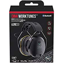 3M WorkTunes Connect Hearing Protector with Bluetooth Technology (Renewed)