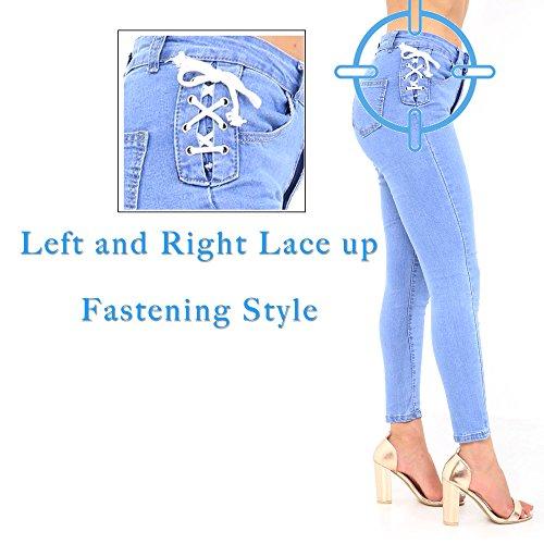 M76 Xelay Light Skinny Donna Jeans Blue 40q6PTvqz
