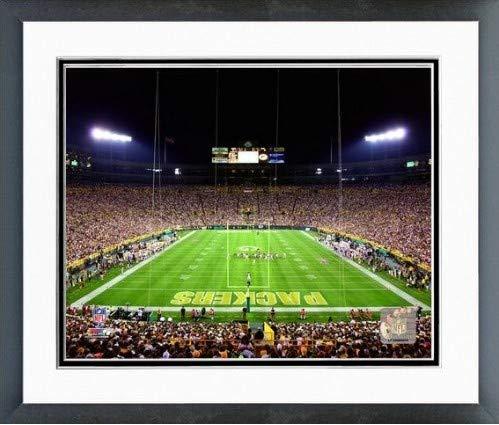 Lambeau Field Framed - Green Bay Packers Lambeau Field Photo (Size: 12.5