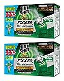 Hot Shot IUffHDUH 96181 Indoor Pest Control Fogger, 4-Count Bonus Size, 2 Pack