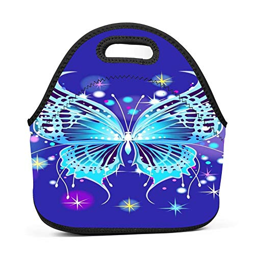 St4 Box (RODONO Insect Butterfly 3D Printing Lunch Bag Tote Bag Lunch Organizer Lunch Holder Lunch Container)