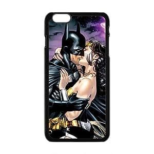 Batman kiss Fashion Comstom Plastic case cover For Iphone 6 Plus