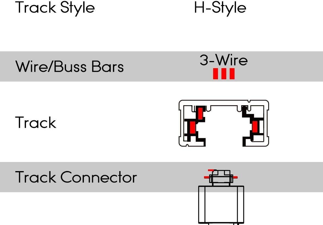 H-Type 3 Wire Track Pendant Light 1m Red Weave Rope Cord Iron Retro Style Lighting Industrial Factory Pendant Lamp