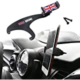 GTINTHEBOX Smartphone Cell Phone Cup Mount Holder with Cradle Rotatable Clip (Red & Blue Union Jack UK Flag Style, 3.5-5.5 Inch Phone) for Mini Cooper F54 F55 F56 F57, 1 Pack