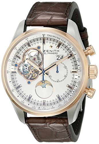 Zenith Men's 5121604047.01C El primero Analog Display Swiss Automatic Brown Watch