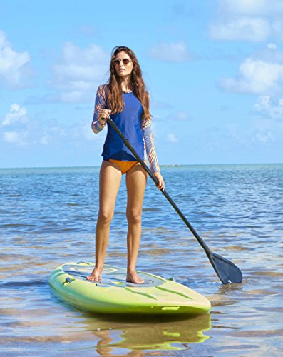 Cabana Life Mujer Disco Swim–Camiseta azul Azul - azul