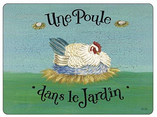 Pimpernel Dans le Jardin Placemats Set of 6 X0010568101