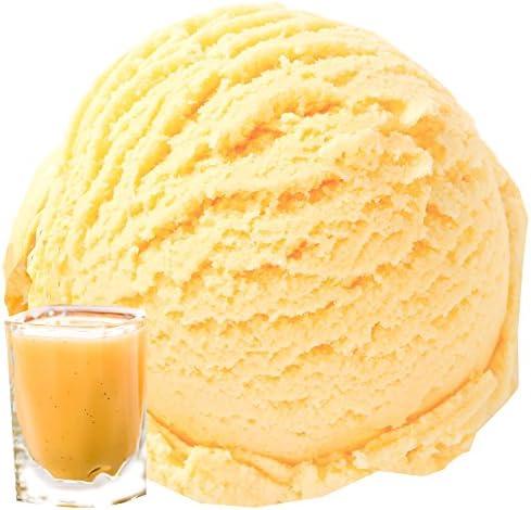 Zabaglione Eggnog Eggpunch Sabor 1 Kg Gino Gelati Ice Powder Polvo de hielo suave para su heladora