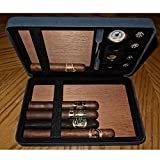 Csonka Accessorized Valet Travel Cigar Humidor Case