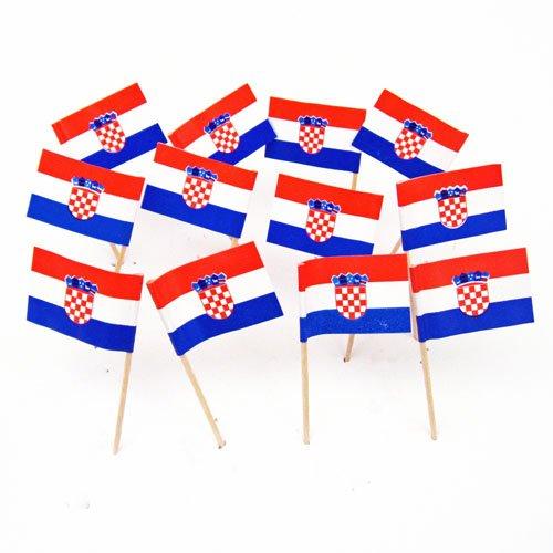 - Croatia | Croatian Flag Toothpicks (100)