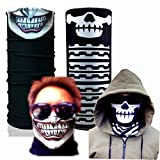 Joker Monkey Skull Call of Duty Swat Fishing Buff Usa Mask Scarf Bandana Headband Headwear 007175 Headface Biker Bb Gun Angler
