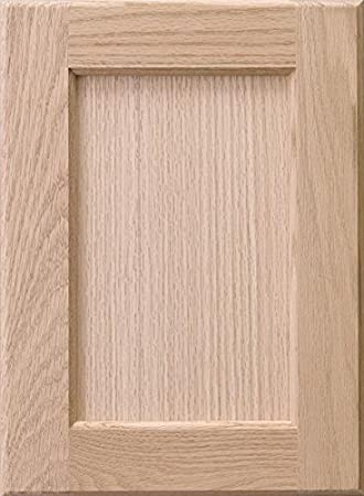 cabinet doors n more 16 x 22 unfinished red oak recess panel