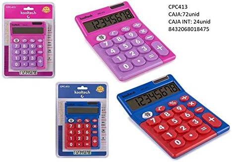 Kooltech 018475 Calculadora Digitos Grandes Azul