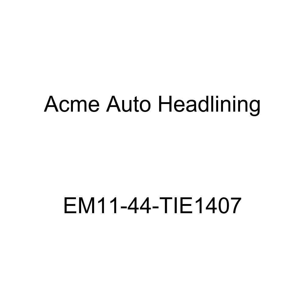 1934 Buick Series 40, 50, 60, 90 Model 90, 4 Door - 7 Bow Acme Auto Headlining EM11-44-TIE1407 Dark Brown Replacement Headliner