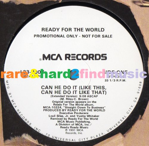 Can He Do It (Like This), Can He Do It (Like That) [Remix] 1991 MCA, US, Promo, 12