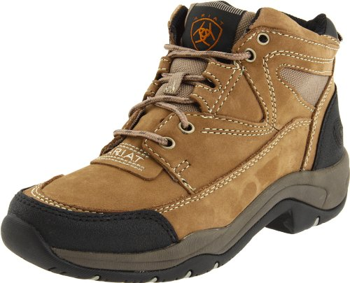 (Ariat Women's Terrain Hiking Boot, Taupe, 8 M US)