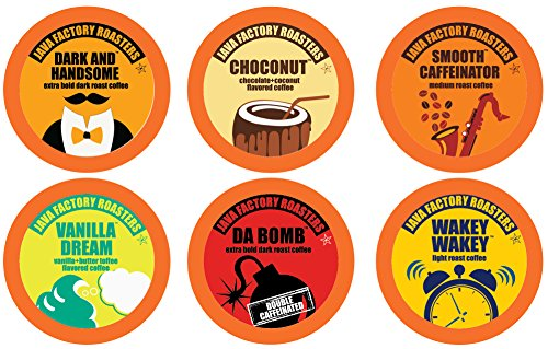 Java Factory Variety Pack Single-cup Coffee for Keurig K-Cup Brewers, 80 Count