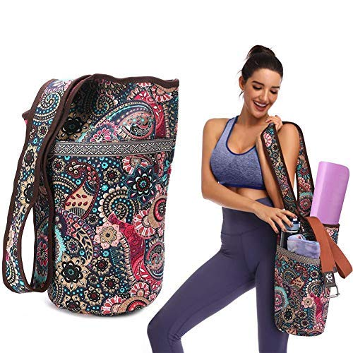 Stronrive Bolsas Esterilla Yoga para Mujeres, Bolsa para ...