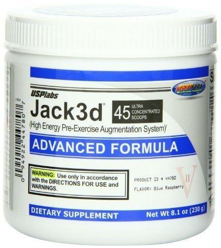Jack 3D (USPlabs), Blue Raspbe...