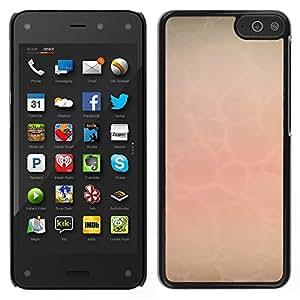 MOBMART Carcasa Funda Case Cover Armor Shell PARA Amazon Fire Phone - Plain Transparent Webs