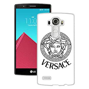 Grace Protactive VERSACE 000 White Case Cover for LG G4