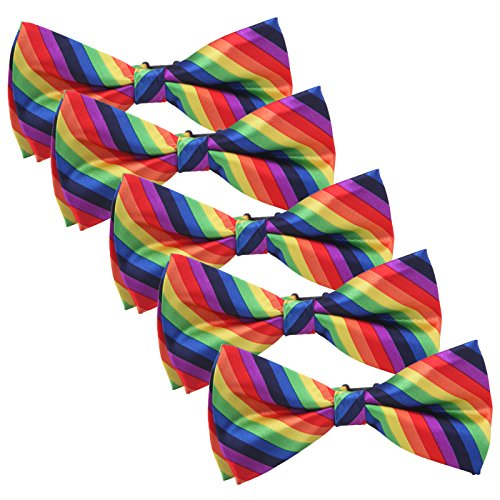 Bow Ties for Men Rainbow Pride Men's Bowties -