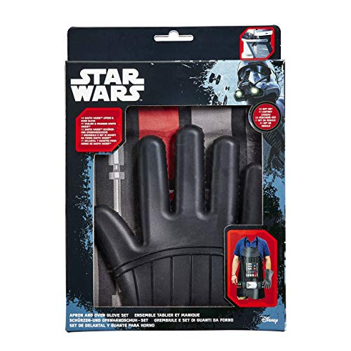 Official Star Wars Adult Darth Vader Apron and Oven Glove Gift Set