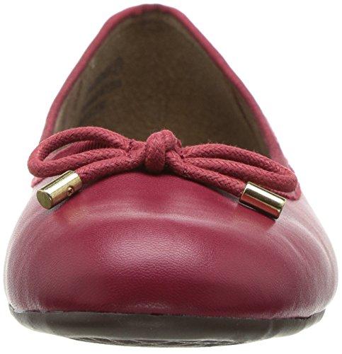 Aerosoles A2 Dames Good Cheer Ballet Plat Donkerrood