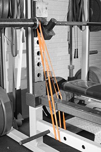 Serious Steel Fitness Orange - #0 Micro Resistance and Mobility Band (2-12 lbs) by Serious Steel Fitness (Image #6)