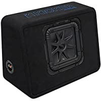 Kicker 10 1200W Single Loaded Solo-Baric L7S Subwoofer Enclosure | 44TL7S102