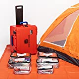 Professional Grade Emergency Survival Kit For Earthquakes, Floods, Tornados, Hurricanes, Auto - 4 Person 4 Days