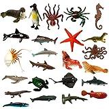 MONILON Water Beads, 24 Pcs Ocean Sea Animals