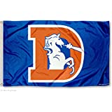 Denver Broncos Throwback Flag and Banner