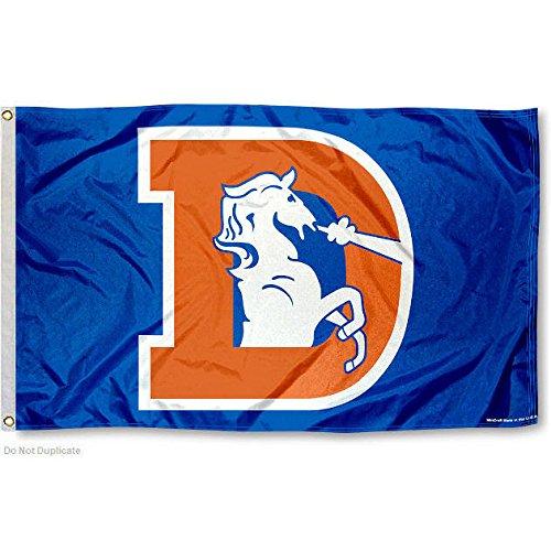 Denver Broncos Throwback Flag and Banner