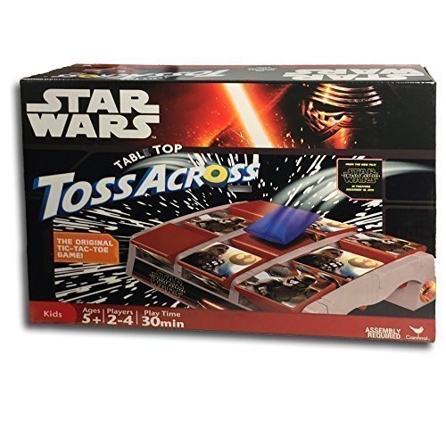 Star Wars The Force Awakens Table Top Toss Across