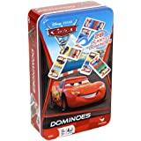 Disney Pixar Cars 2 Dominoes Game Set In Metal Tin