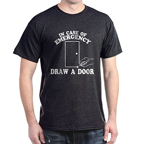 CafePress Draw A Door Beetlejuice 100% Cotton T-Shirt